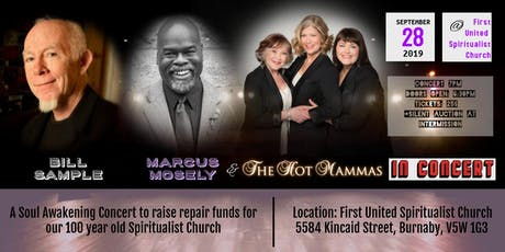 Bill Sample, Marcus Mosely and The Hot Mammas in Concert tickets