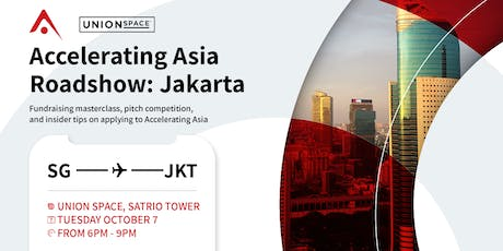 Accelerating Asia Roadshow in Jakarta tickets
