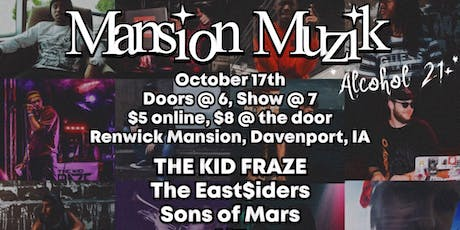 Mansion Muzik tickets