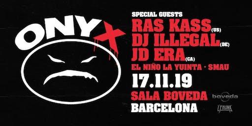 ONYX & Ras Kass Live in Barcelona