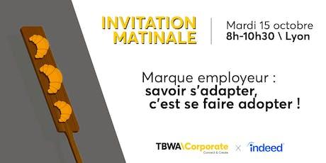 Matinale TBWA - Marque employeur - 15 octobre billets