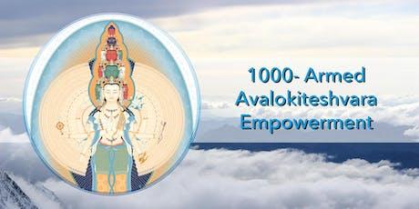 Blessing Empowerment of 1000-Arm Buddha Avalokiteshvara tickets