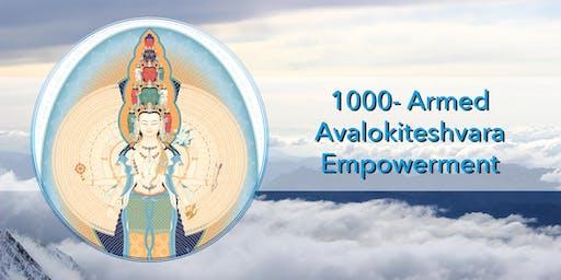 Blessing Empowerment of 1000-Arm Buddha Avalokiteshvara