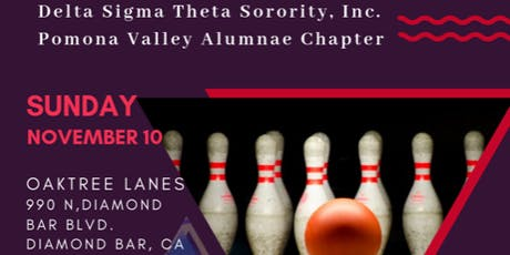 "Delta Sigma Theta, Pomona Valley Alumnae ""Strowl & Bowl"" tickets"