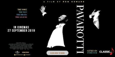Pavarotti Free Movie Screening tickets