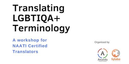 Translating LGBTIQA+ Terminology