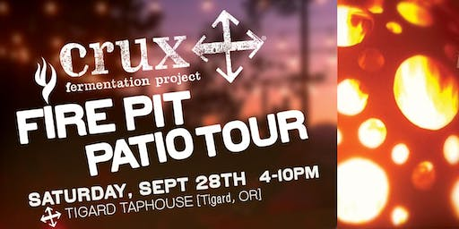 Crux Fire Pit Patio Tour at the Tigard Taphouse