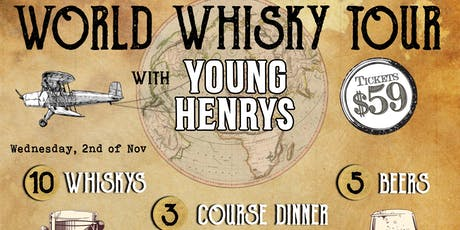 World Whisky Tour - With Young Henrys tickets