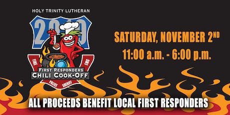 2nd Annual First Responders Chili Cook-Off tickets