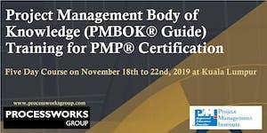 PMP® Certification Preparation Course [5 Day Course]