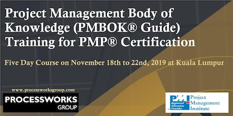 PMP® Certification Preparation Course [5 Day Course] tickets