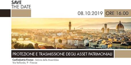Protezione e trasmissione degli asset patrimoniali biglietti