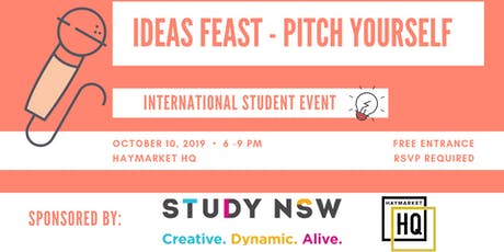Ideas Feast - Pitch Yourself tickets