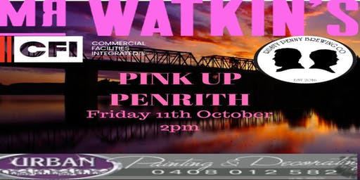 Mr Watkins Pink Up Penrith