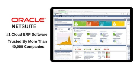 Scale Up Your F&B With Oracle NetSuite & Helios - #1 Cloud ERP Software tickets
