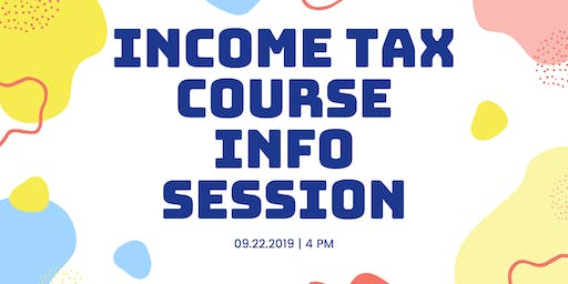 Income Tax Class - Virtual Info Session for Greater Cleveland Area (Ohio)