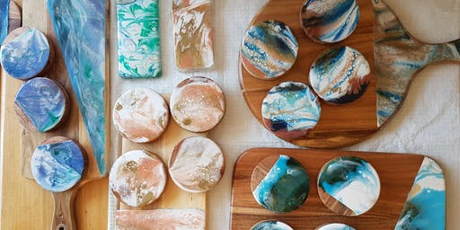 Resin Workshop - 2 tickets at discounted price