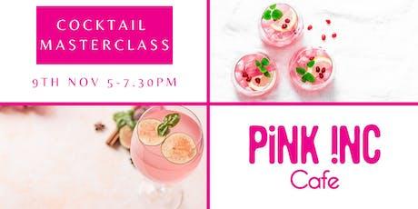 Cocktail Masterclass Evening tickets