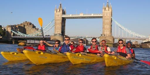 Family Kayak Bus (Greenwich to Battersea)