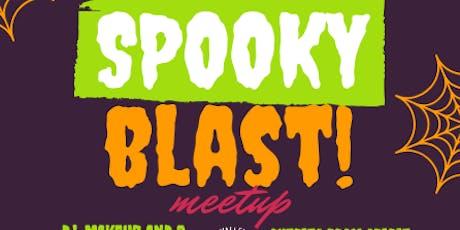 Spooky Blast Meetup tickets