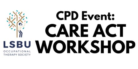 Care Act Workshop tickets