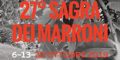 27° SAGRA DEI MARRONI DI SAN ROCCO DI PIEGARA