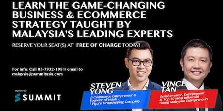 Secrets Of E-Commerce Business Event 2019 Live In Petaling Jaya tickets
