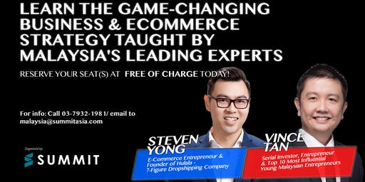 Secrets Of E-Commerce Business Event 2019 Live In Petaling Jaya