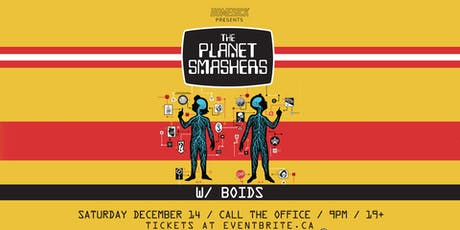 The Planet Smashers tickets