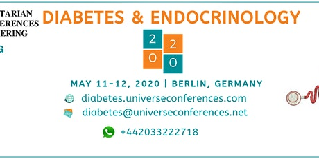 Diabetes and Endocrinology Utilitarian Conferences tickets