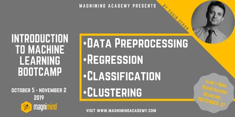 Introduction to Machine Learning Mini Bootcamp (5 days - 17 hours) tickets