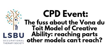 The fuss about the Vona du Toit Model of Creative Ability: reaching parts other models can't reach? tickets