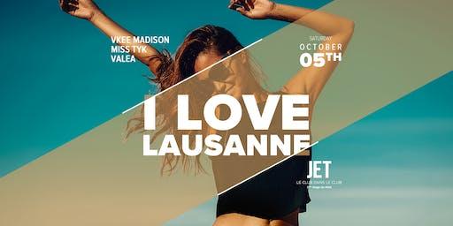 I LOVE LAUSANNE