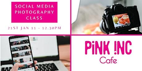 Social Media Photography Masterclass tickets