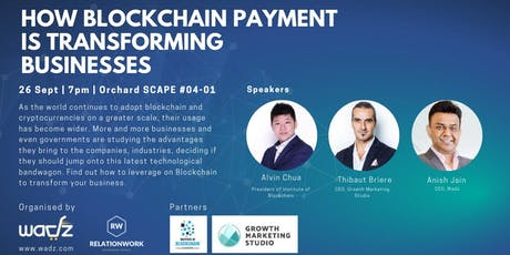 How blockchain payment is transforming businesses? tickets