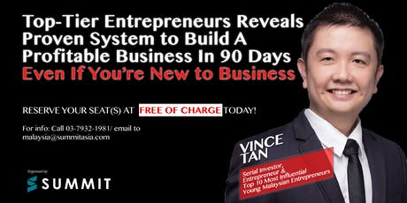How to Build A Profitable Business In 90 Days Without Using Your Own Money tickets