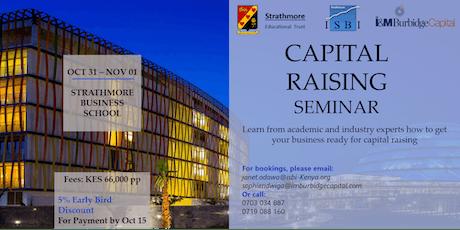Capital Raising Seminar 2019 tickets