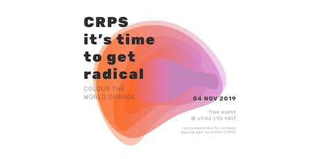 Colour the World Orange for COMPLEX REGIONAL PAIN SYNDROME tickets
