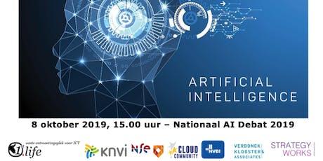 Nationaal AI Debat tickets