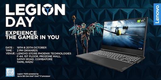 Lenovo Legion Day | Coimbatore