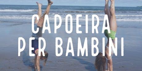 Capoeira per bambini da 5 a 10 anni - Lezione di prova gratuita tickets