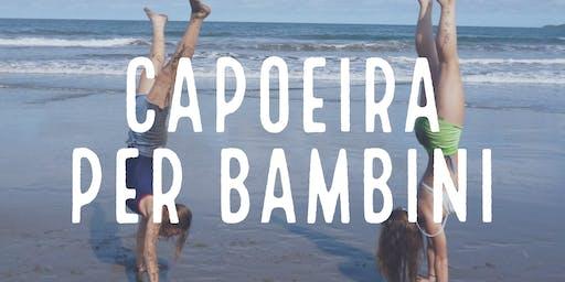 Capoeira per bambini da 5 a 10 anni - Lezione di prova gratuita