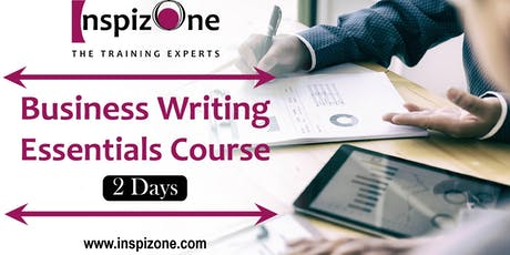 2 Days Effective Business Writing Course Singapore for Executives tickets