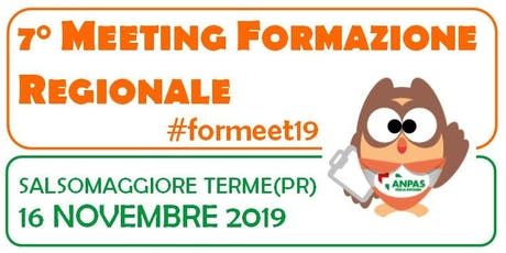 7° MEETING  REGIONALE DELLA FORMAZIONE - SALSOMAGGIORE TERME biglietti