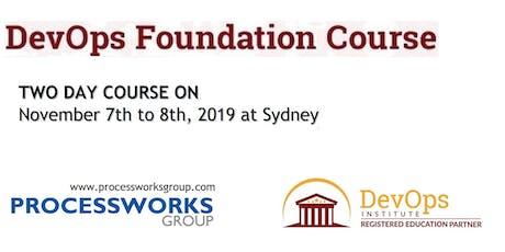 DevOps Foundation Course [2 Days Certification Course] tickets