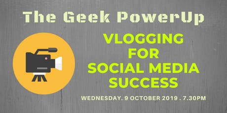 Vlogging for Social Media Success tickets
