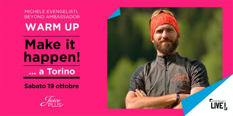 JPLIVE Torino | Warm Up con Michele Evangelisti biglietti