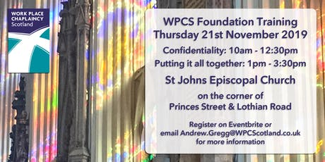WPCS Foundation Training Day (3) tickets