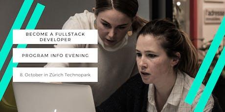 Full Stack Developer Program - Information Evening tickets