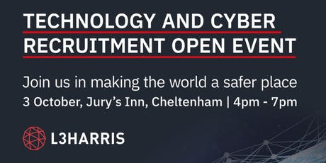 Technology & Cyber Recruitment Open Event tickets